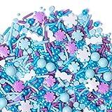 Holiday Sprinkles | Winter Wonderland Sprinkle Medley | Frozen Blend | 8oz