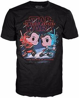 Funko POP. Tees star wars rey graphic tee shirt 68