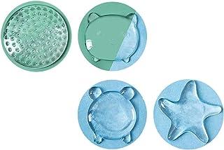 Lot de 4 tampons de protection en silicone transparent pour porte de placard de cuisine, salle de bain, bureau