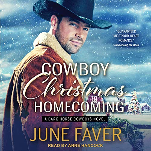 Cowboy Christmas Homecoming audiobook cover art