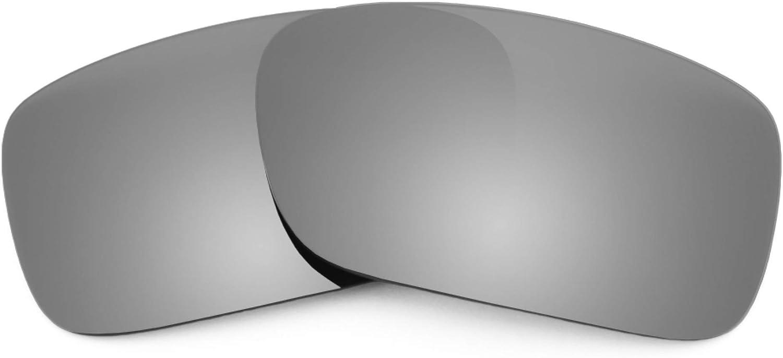 Revant Verres de Rechange pour Oakley Crankcase - Compatibles avec les Lunettes de Soleil Oakley Crankcase Titane Mirrorshield - Polarisés Elite