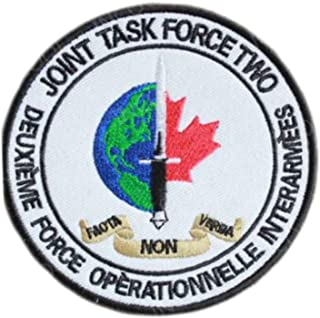 OYSTERBOY Canada Joint Task Force 2 JTF2 rainbow six 6 Hook Back Tactical Patch
