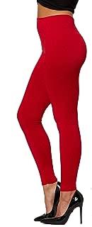 Premium Women's Fleece Lined Leggings - High Waist - Regular and Plus Size - 20+ Colors