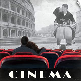 CANVAS ON DEMAND Cinema Roma Wall Peel Art Print, 48