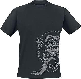 T Shirt Sidekick Kustom Builds Monkey Logo Official Mens Black