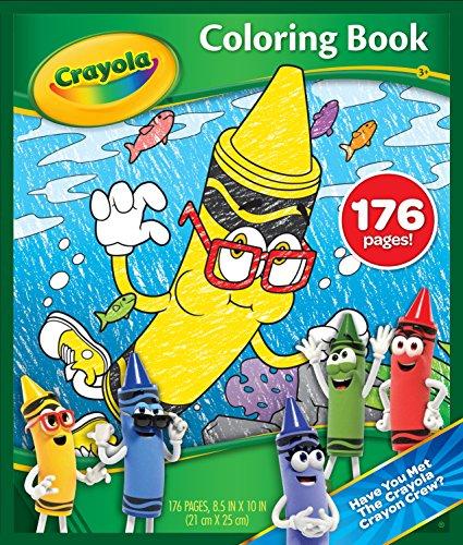 Crayola Coloring Book, Multicolor
