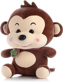 "Monkey Plush Toy, 14"" Big Stuffed Animal Throw Plushie Pillow Doll, Soft Fluffy Friend Hugging Cushion - Present for Every..."
