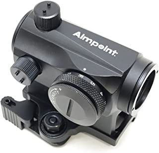 Aimpointタイプ Micro T-1 ダットサイト QD一体型 マウント BK [並行輸入品]