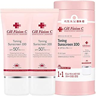 [1+1] Cell Fusion C Toning Sunscreen 100 SPF 50+ /PA++++