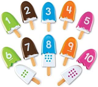 Learning Resources LER7344 Smart Snacks Number Pops Set (10 Piece),20 Pieces,Multicolor