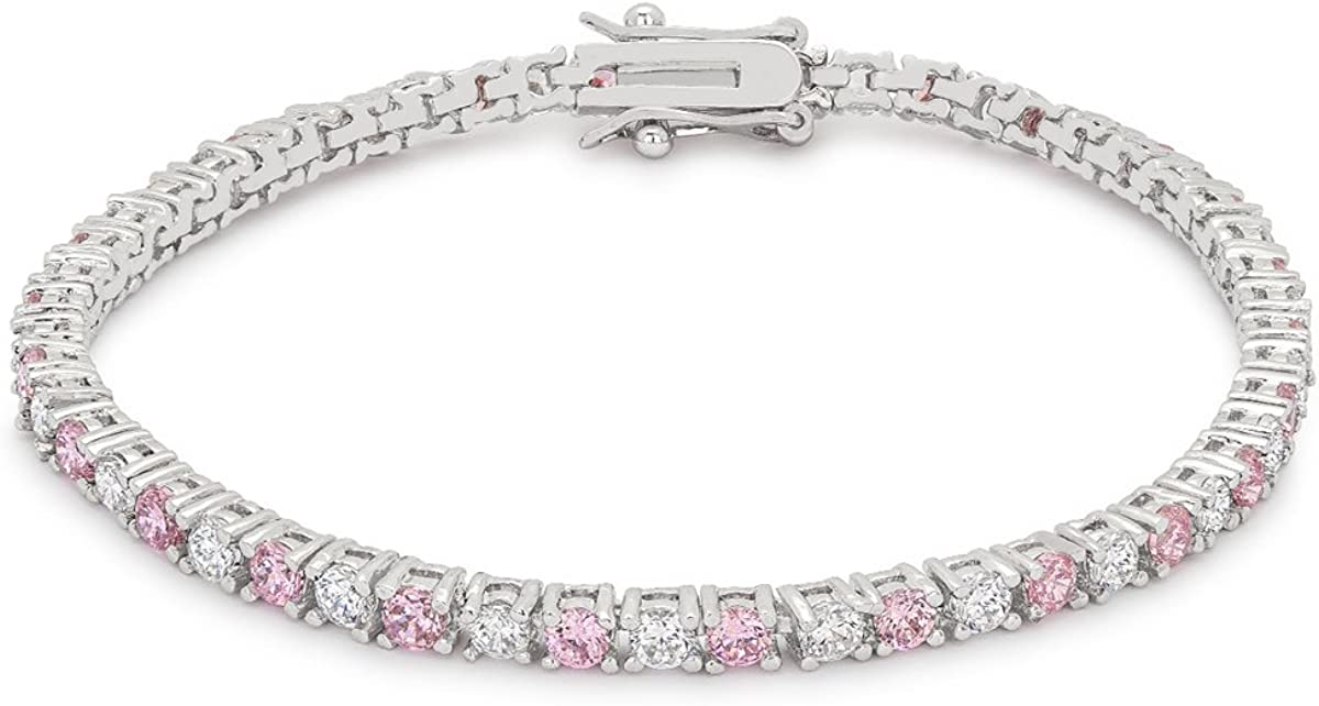 Exclusive Cubic Zirconia Don't miss New arrival the campaign Tennis Bracelet Collection Biss Kate by