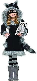 Fun World Costumes Baby Girl's Sweet Raccoon Toddler Costume