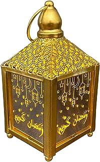 Led Hanging Lanterns Decoration Ramadan Lights Holiday Lighting Wrought Iron Night Light Decorative Hanging Lantern Room Home Decor A Ramadan Lanterns for Decoration