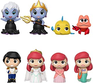 Funko Mystery Minis: Little Mermaid PDQ(12 Pieces), One Random Mystery Action Figure - 45017