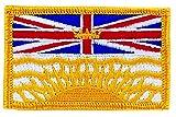 Aufnäher Patch bestickt Britisch Kolumbien Flagge flag canada zum Aufbügeln