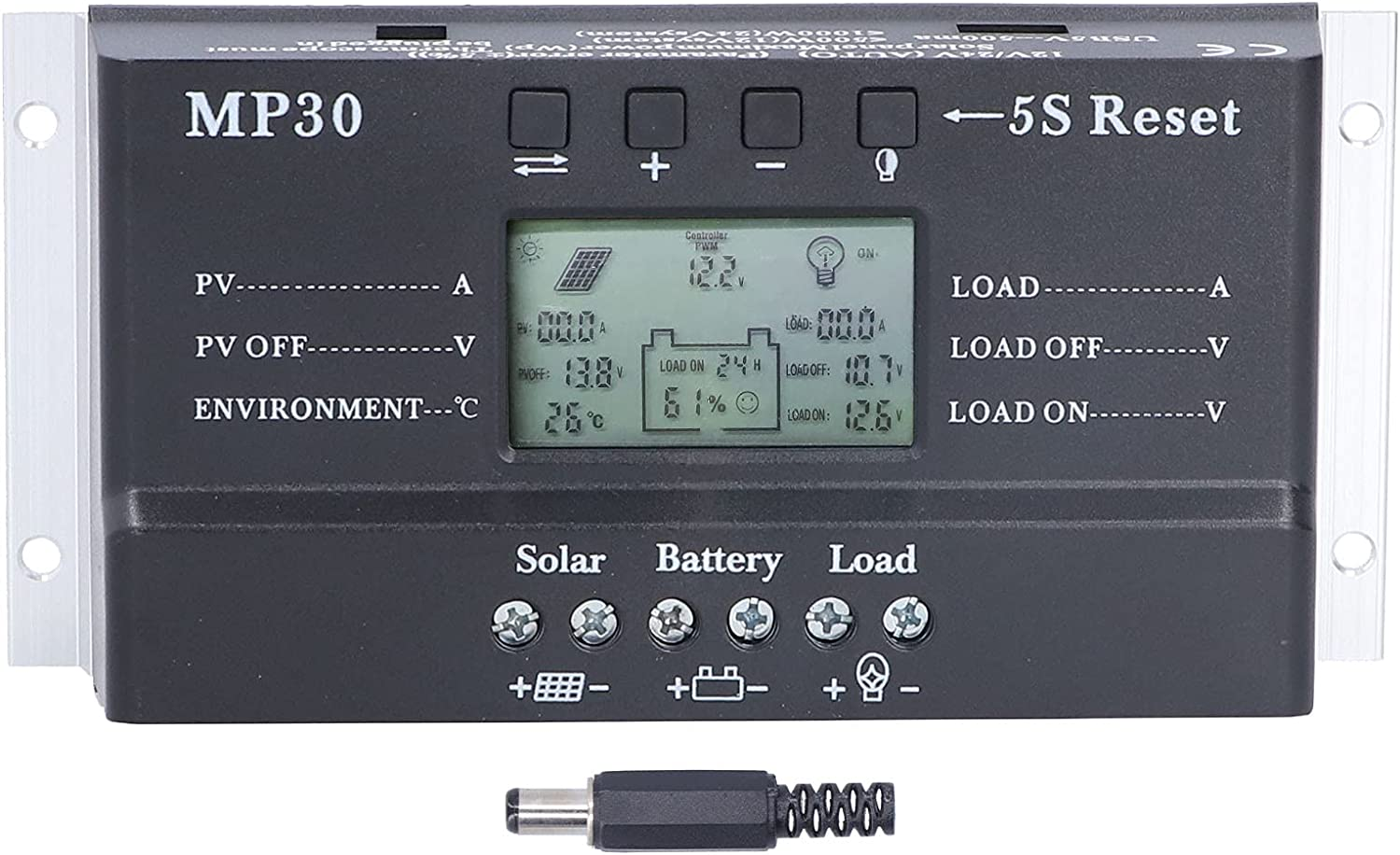 SALUTUY Solar Charge S Controller Ranking TOP18 Ranking TOP6 Panel