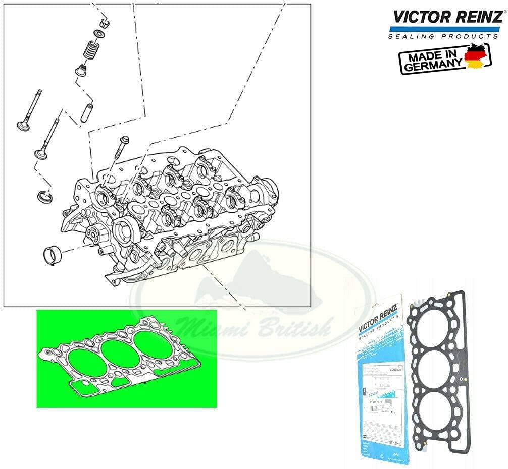 HEAD CYLINDER GASKET x1 RANGE Limited time trial price LR4 SPORT LR013063 VR V6 DIESEL RR Fresno Mall