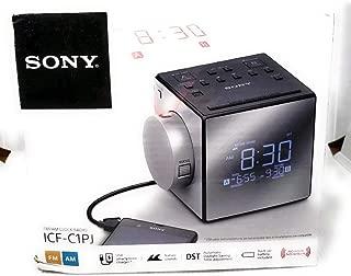 Sony ICFC1PJ AM/FM Dual-Alarm Clock Radio Black/Silver