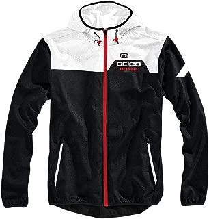100% Geico Honda Aviator Hooded Jacket-L