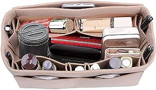 Felt Fabric Purse Handbag Organizer Bag Lmieson Multi Pocket Insert Bag Fit Speedy Neverfull