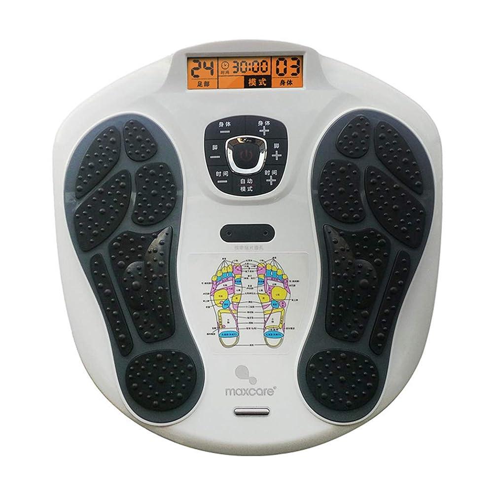 プラス救援飢饉リモコン フットマッサージャー、LEDディスプレイスクリーン、フットリラクゼーションのための熱を備えたマシン、15のモードを備えた疲労緩和。 インテリジェント