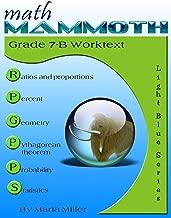 Math Mammoth Grade 7-B Worktext