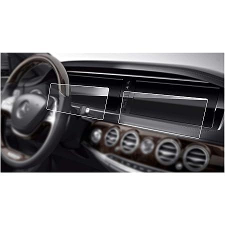 JTSGHRZ Car decorative frame For Mercedes Benz S Class W222 2014 2015 2016 2017,1 Pair of Door Stereo Audio Speaker Frame Cover Trim Sticker ABS Chrome