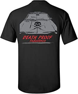 Death Proof Industries Skull Hood Nova Speed Shop T-Shirt Tee