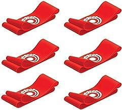 غطاء دانتيل لحذاء كرة القدم ذو 12 هوت سبوت هوت سبوت من يونيك سبورتس - 6 أزواج