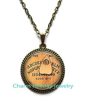 Ouija board Glass Pendant ouija necklace ouija jewelry ouija gift photo pendant art pendant photo jewelry art jewelry glass jewelry
