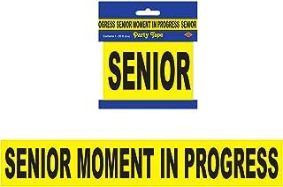 "Senior Moment In Progress Party Tape 3"" x 20` 1/Pkg"
