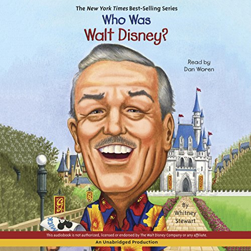 Who Was Walt Disney? audiobook cover art