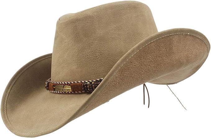 SSLA 2018 Western Cowboy Hats Men Sun Visor Cap Women Travel Western Hats Chapeu Cowboy Equestrian Cap