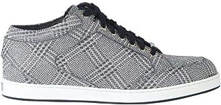 JIMMY CHOO Luxury Fashion Womens MIAMIPGWSILVER Silver Sneakers | Spring Summer 19