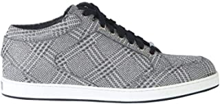 JIMMY CHOO Luxury Fashion Womens MIAMIPGWSILVER Silver Sneakers | Fall Winter 19