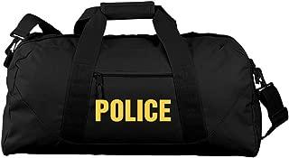 Large Police Duffel: Liberty Large Square Duffel Bag