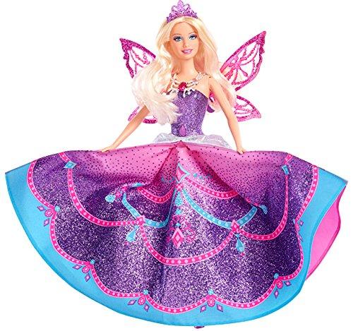 Barbie - Muñeca Vestida de Mariposa, Princesa Catania con