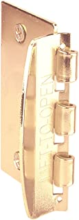 """Prime-Line U 9887 Flip Action Door Lock – Reversible Brass Privacy Lock with Anti-Lock Out Screw for Child Safe Mode, 2-3/4"""""""