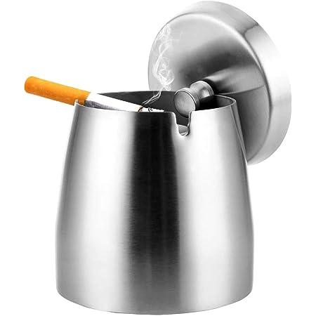 Edelstahl Aschenbecher mit deckel Edelstahl Aschenbecher Windgeschützt