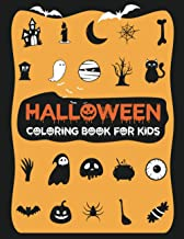 Halloween Coloring Book For Kids: Spooky Monsters, Witches and Ghouls Coloring Pages for Kids to Color, Hours Of Fun Guara...