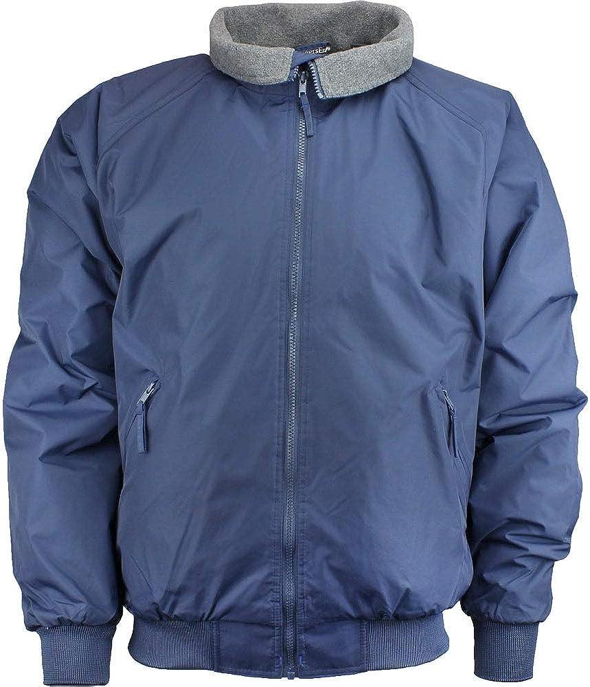 River's End Mens Bomber Jacket Athletic Jacket - Blue
