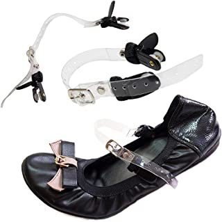 Eliza May Detachable Shoe Straps ShooStraps - to Hold Loose Heels, Wedges, Flats