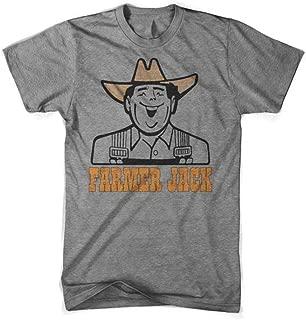 Detroit Shirt Company Mens Farmer Jack Triblend T-Shirt