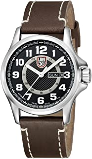 Men's Field Series 1800 Automatic Brown Genuine Leather Black Dial