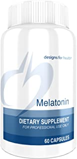 Designs for Health Melatonin 3 Milligrams - Sleep Aid (60 Tablets)