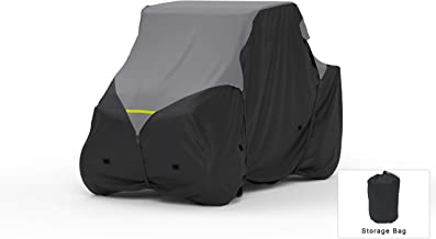 Weatherproof UTV Cover Compatible With 2018 Textron Off Road Prowler 500 - Outdoor & Indoor - Protect From Rain Water, Snow, Sun - Reinforced Securing Straps - Durable Material - Free Storage Bag