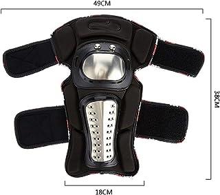 ETH オフロードマウンテンステンレス鋼機関車オフロードオートバイ防護服膝肩エルボー4ピーススーツナイト機器 ユニーク (UnitCount : Elbow pads)