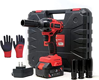 Lion Tools ZTP011 Toolman Lithium-ion cordless Impact Wrench kit 1/2