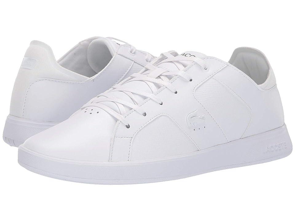 Lacoste Novas 119 4 (White/White) Men