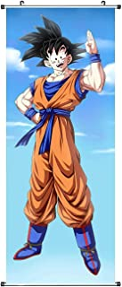 CosplayStudio Grand tableau à rouler Dragon Ball | Kakemono en tissu | Poster 100 x 40 cm | Motif Son Goku